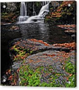 Waterfall Childs State Park Acrylic Print