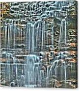 Waterfall Highights Acrylic Print