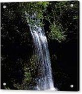 Waterfall In A Forest, Glencar Acrylic Print