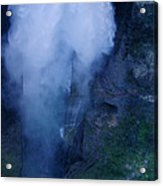 Waterfall In Spain  Near Granada Acrylic Print
