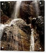 Waterfall Acrylic Print by Lucy D