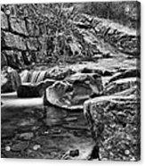 Waterfall Mono Acrylic Print