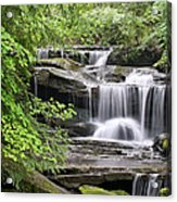 Waterfall Near Mabbitt Spring Acrylic Print