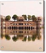 Waterfront Building, Jaipur, India Acrylic Print