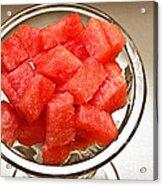 Watermelon Parfait 2 Acrylic Print