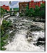 Waterpower Acrylic Print