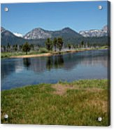 Waters Lead To Lake Tahoe Acrylic Print
