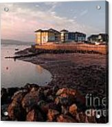 Waterside At Exmouth Acrylic Print