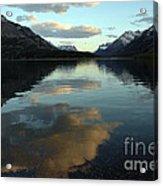 Waterton Lake Sunset Canada Acrylic Print