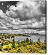 Watson Bay Sydney Harbor Acrylic Print