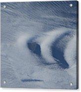 Wave Clouds Near Ile Aux Cochons Acrylic Print