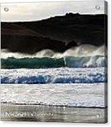 Waves At Clogher Beach Acrylic Print