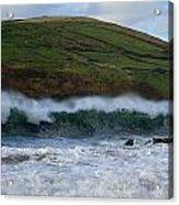 Waves In Beenbane Acrylic Print