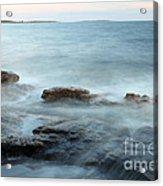 Waves On The Coast Acrylic Print