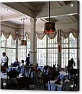 Wawona Dining Room Acrylic Print