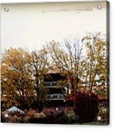 Waynesville Inn And Golf Resort Acrylic Print