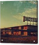We Met At The Old Motel Acrylic Print