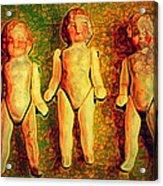 We Three Acrylic Print