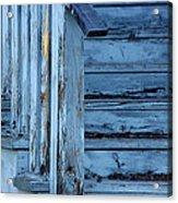 Weathered Blue Acrylic Print