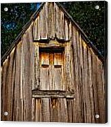 Weathered Structure Acrylic Print