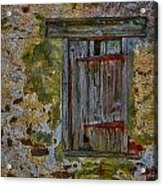 Weathered Vibrancy Acrylic Print