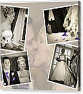 Wedding Album Page - Fine Art Acrylic Print