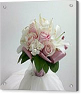 Wedding Bouquet Acrylic Print by Lali Partsvania