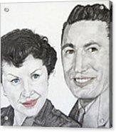 Wedding Day 1954 Acrylic Print