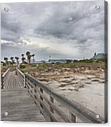 Welcome To Bald Head Island Acrylic Print