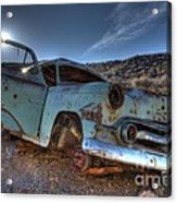 Welcome To Death Valley Acrylic Print by Bob Christopher