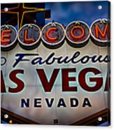 Welcome To Fabulous Las Vegas 2 Acrylic Print