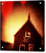 Welcome To Hell House Acrylic Print