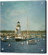 Welcome To Nantucket Acrylic Print