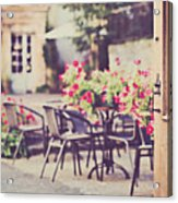 Welcome To The Restaurant Acrylic Print