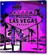 Welcome To Vegas No.2 Acrylic Print