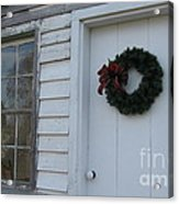 Welcoming Wreath  Acrylic Print