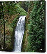 Well Placed Waterfall Acrylic Print