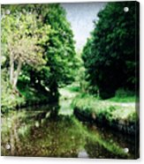 Welsh Canal Dream Acrylic Print