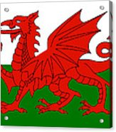 Welsh National Flag Acrylic Print