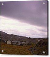Welsh Valley Acrylic Print