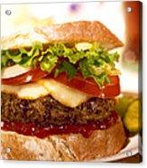 Wendy's Burger Acrylic Print