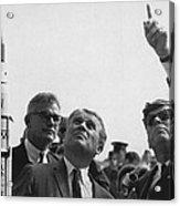Wernher Von Braun Explains The Saturn Acrylic Print