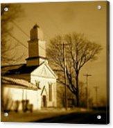 West Barre Church Acrylic Print