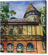 West Chester Library Acrylic Print