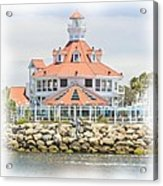 West Coast Charm Acrylic Print