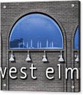 West Elm Acrylic Print