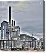 West Mill Acrylic Print