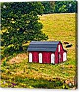 West Virginia 2 Paint Acrylic Print