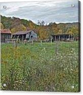 West Virginia Barn 3212 Acrylic Print