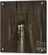 West Virginia Penitentiary Hallway Out Acrylic Print